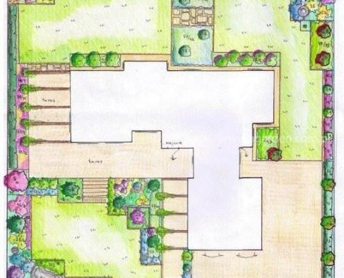 projekty ogrodów poznań