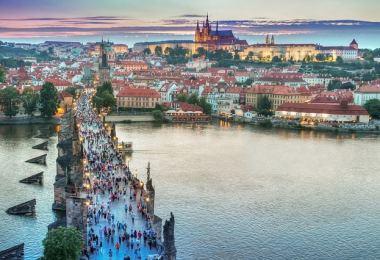 Visitar Praga - Vistas área