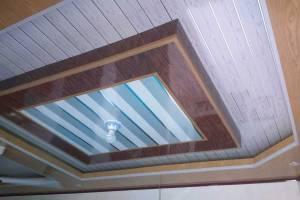Jasa Pasang Plafon PVC Kombinasi