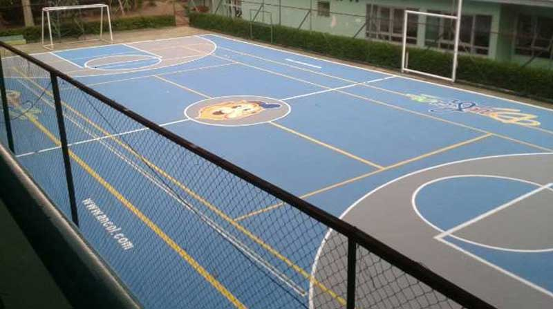 Jasa Pembuatan Lapangan Basket Kualitas Standar