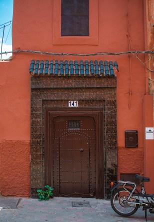 One of the decorative doors