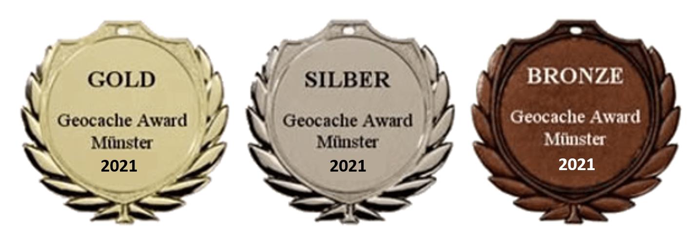 Gold Siber Bronze