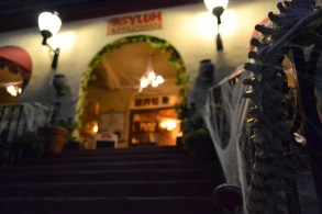 The Grand Hotel (which is said to be haunted) awaits its guests in Jerome, Arizona on October 12, 2015.