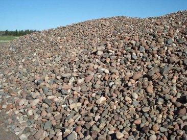 Pit-rock-pile