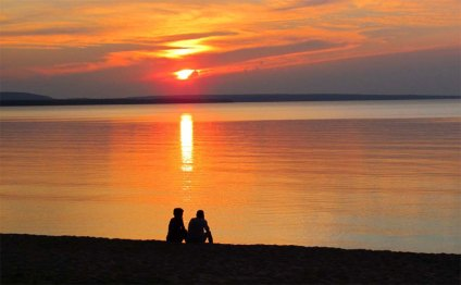 munising-sunset