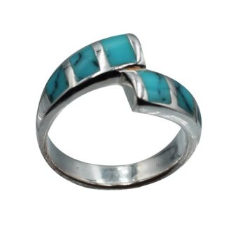 Fine Bague Femme Argent Turquoise   Agate You Fine Bague Femme Argent Turquoise