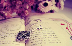 book and key