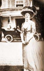 mlada Agatha slikana na jednoj od kucnih zabava