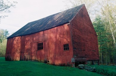 Joseph Gloyd's first barn. Photo courtesy Dario Coletta