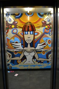 Elevator Art in downtown Miami