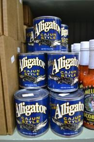 alligator meat new orleans gift shop