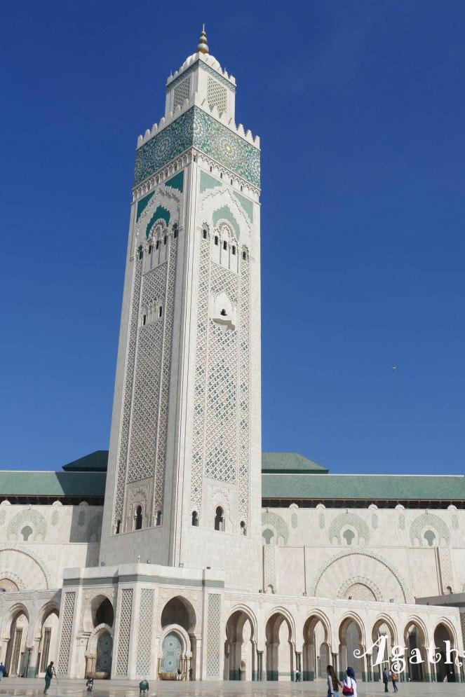 2017MA0156-Casablanca-Grande Mosquee Minaret
