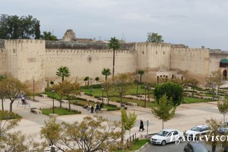 2019NM0123-Meknes-Riad- Vue place et murailles