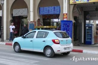 2019NM0188-Meknes-Taxi bleu