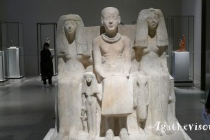 2018BE0577-Berlin-Neues Museum-Egypte Statues