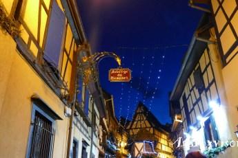 2019NF0215-Eguisheim-Ruelle et ciel de nuit
