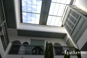 Le toit couvert de Dar Danka
