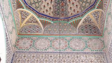 2019FE0241-Fes-Medina-Mosquee plafond