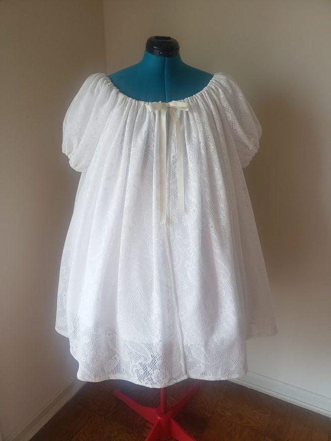 white chamise set