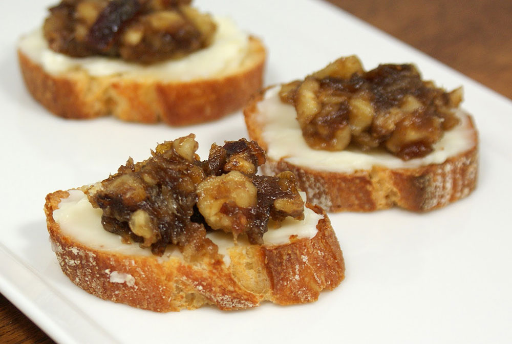 Sweet and Savory Crostini