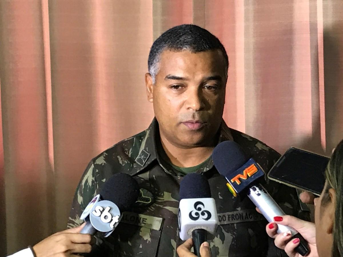 Comandante do 4º Bis havia agendado conversa com pai de Bruna ...