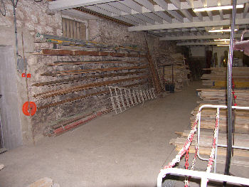 L'entrepôt d'AG-Bat Maçonnerie dans la Marne