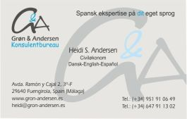 cliente gron and andersen