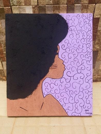 Opemipo Lasode Afro Girl Agbowo