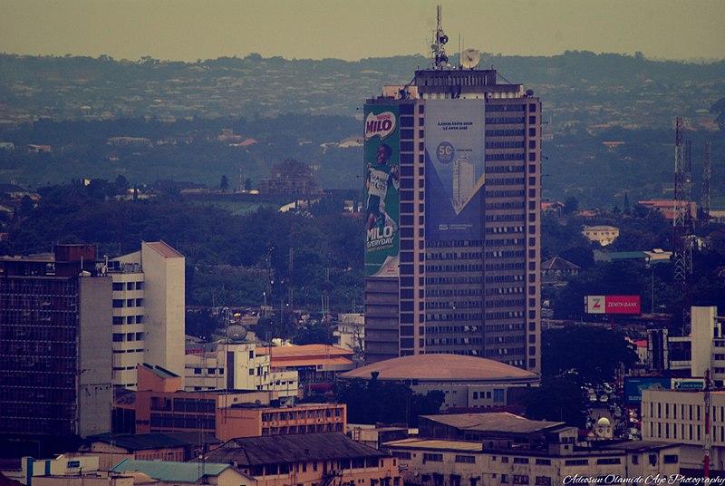 Ibadan skyline Agbowo