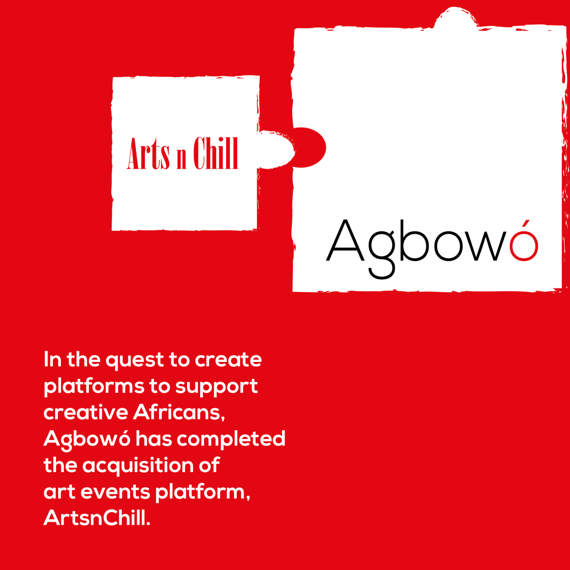 Agbowo Acquires ArtnChill African Art acquisition