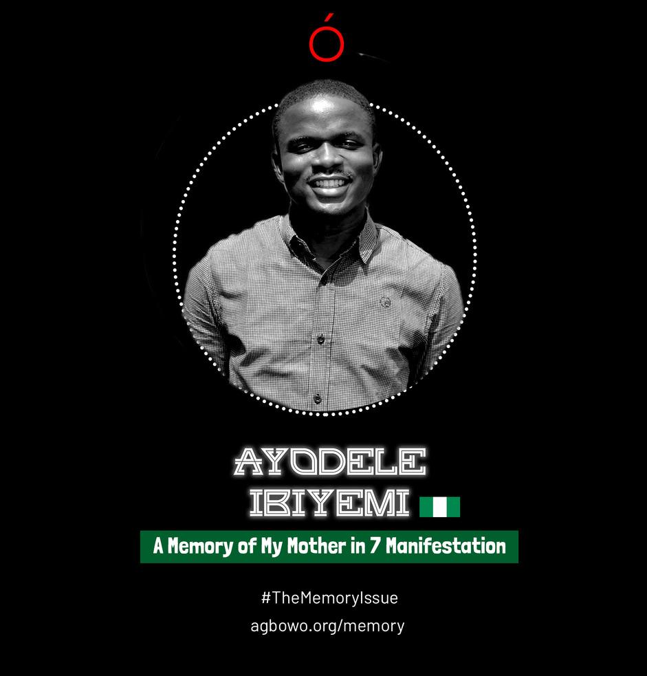 Ayodele Ibiyemi The Memory Issue Agbowo Art Magazine