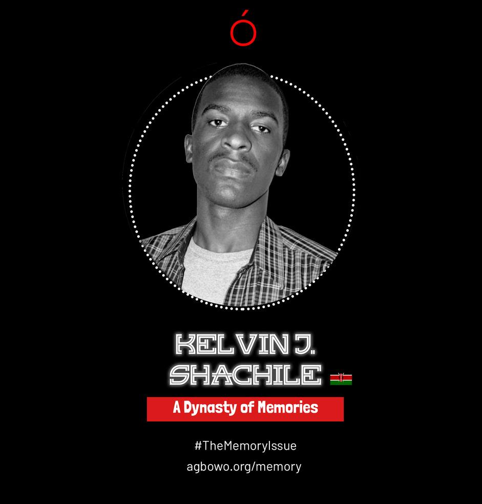 Kelvin J. Shachile The Memory Issue Agbowo Art Magazine