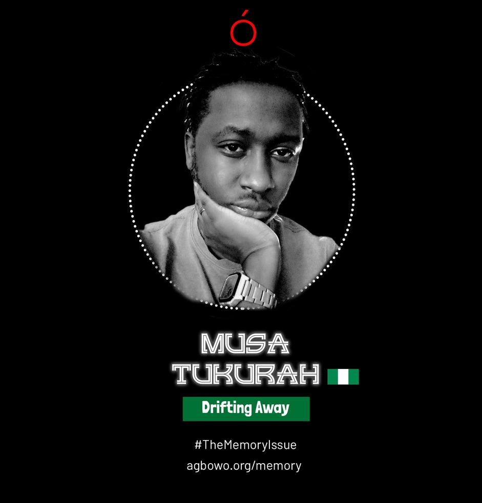 Musa Tukurah The Memory Issue Agbowo Art Magazine