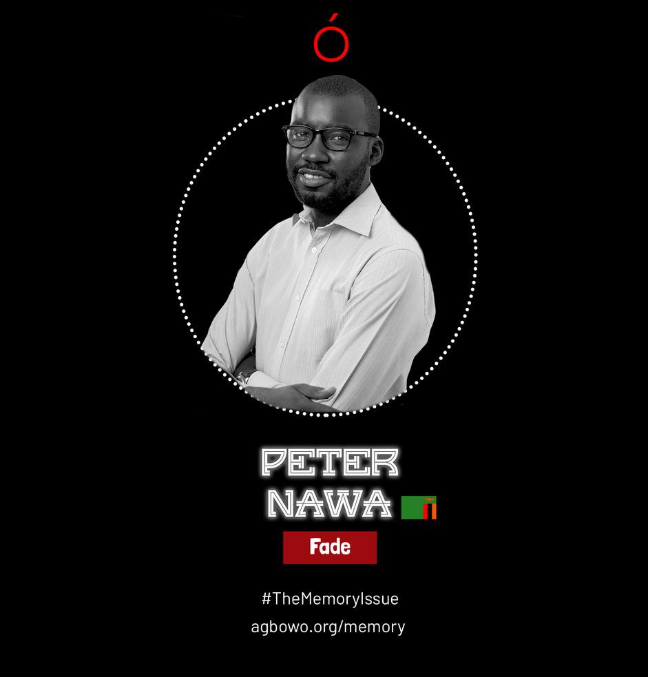 Peter Nawa The Memory Issue Agbowo Art Magazine