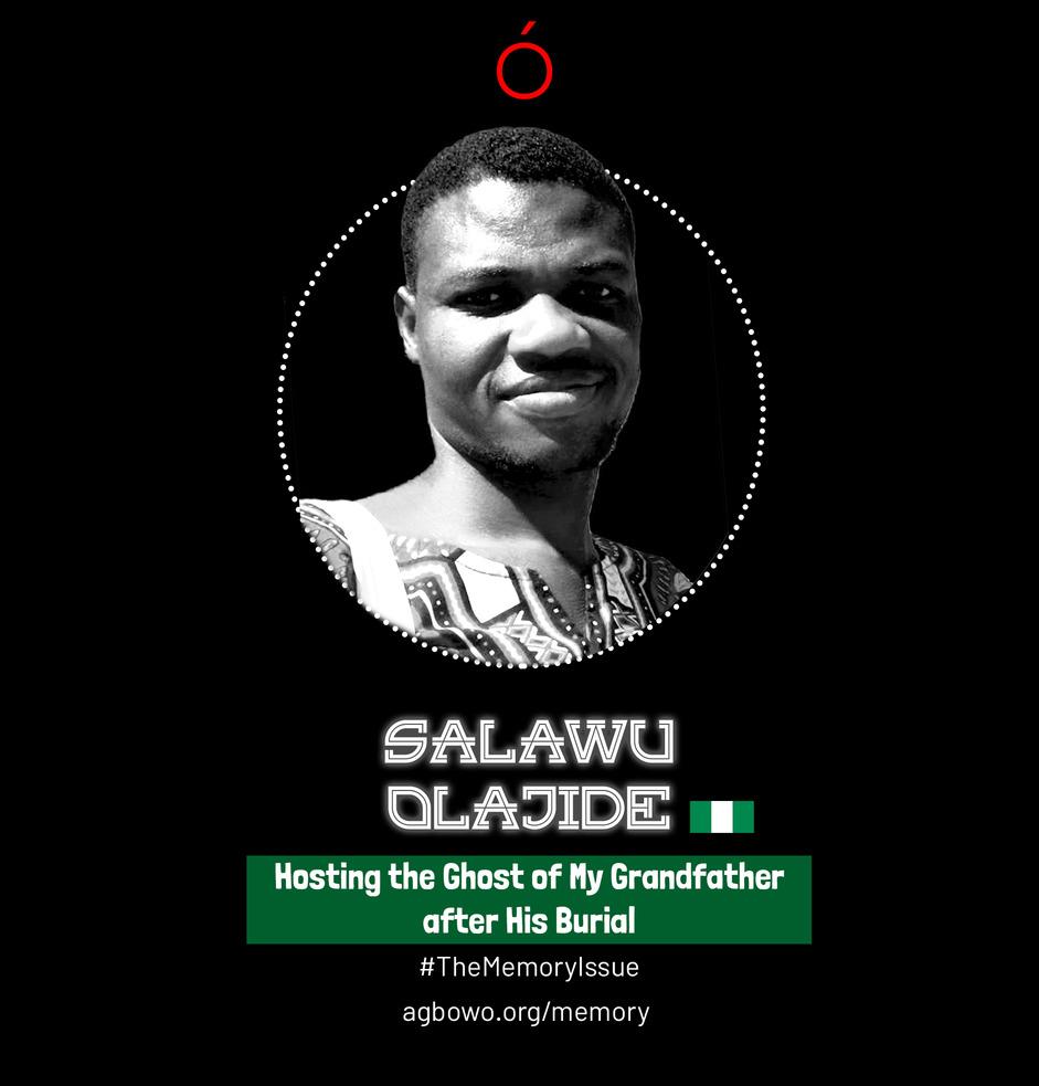 Salawu Olajide The Memory Issue Agbowo Art Magazine