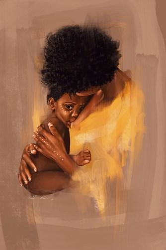 Mtoto Wangu 2020 Fatima Krantz Agbowo Art African Literary Art