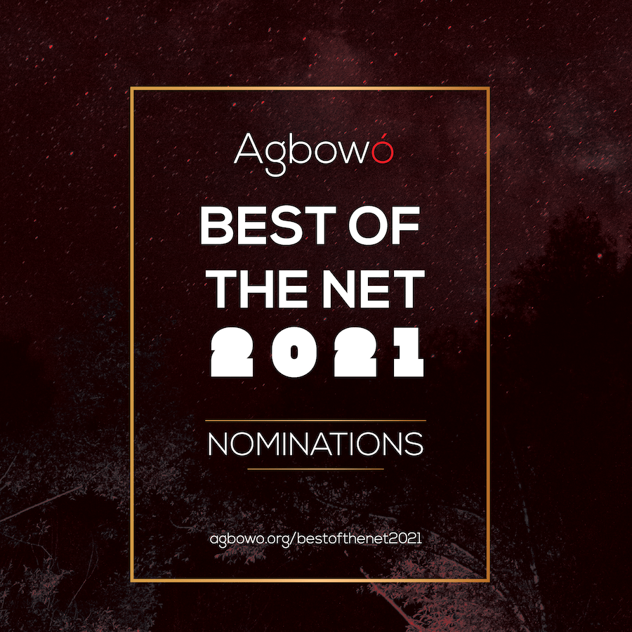 Best of the Net nominations Agbowo African Literary Art