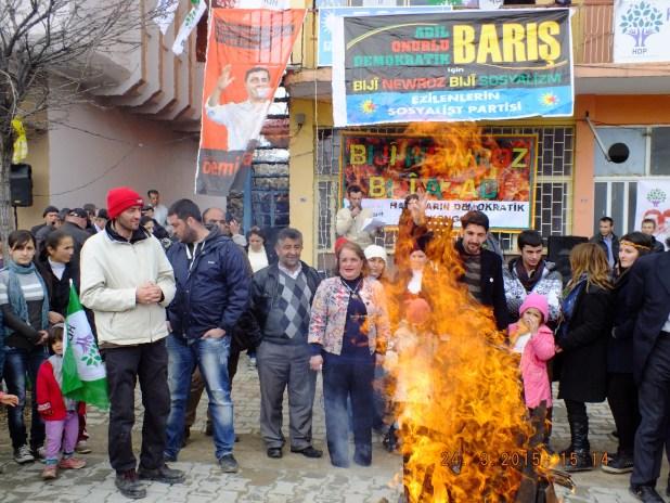 Nurhak'ta Newroz coşkuyla kutlandı