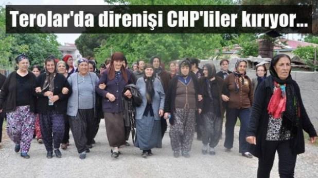 Terolar'da direnişi CHP'liler kırıyor… 1