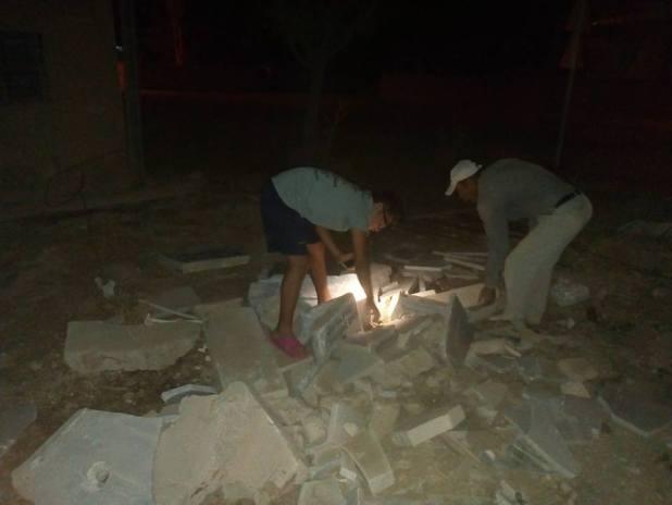 Elbistan Demircilik'te bulunan Kaypakkaya çeşmesi yıkıldı