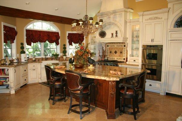 Gorgeous luxury custom made kitchen by AGC Built- Luxury Craftsman