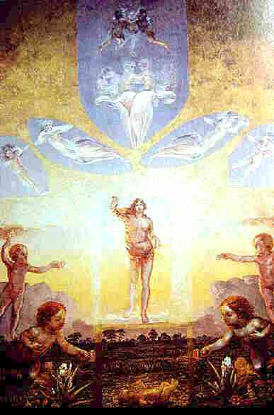 Image result for sun in renaissance painting blake renoir