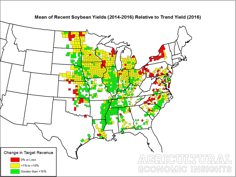 crop yields. US ag trends. Agricultural economic insights