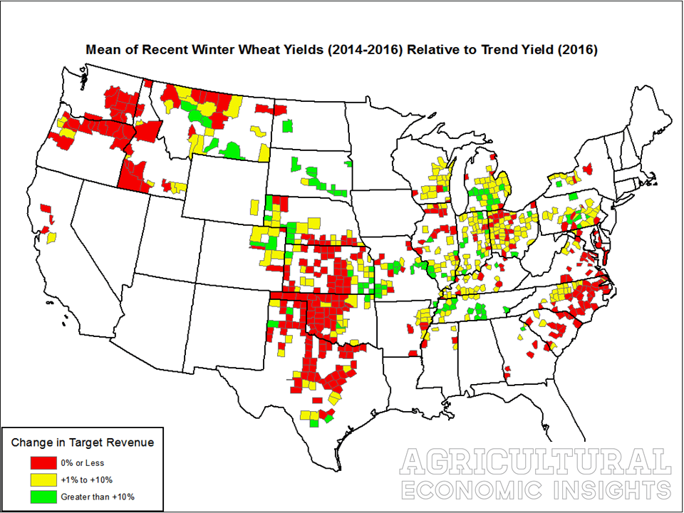 us ag trends. crop yields. agricultural economic insights