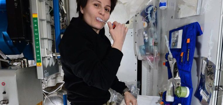 Oral Hygiene in Space