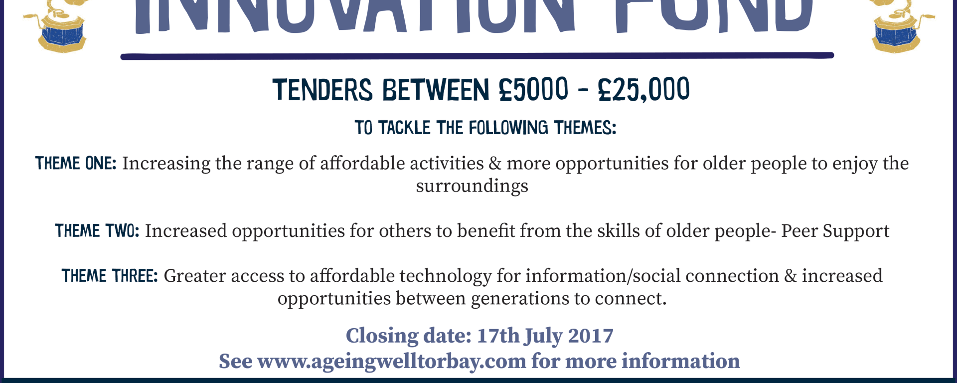 Innovation Fund Torbay Ageing Well Torbay