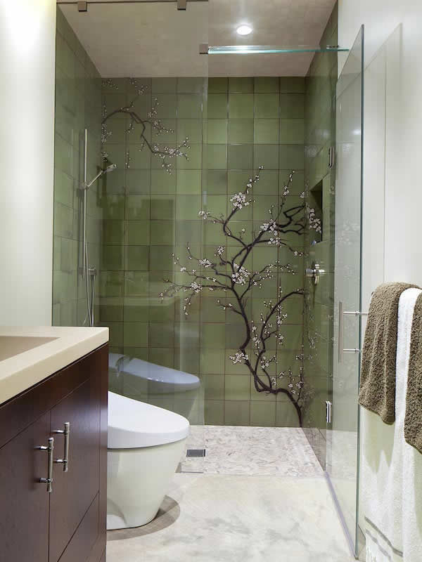 8 Small Bathrooms That Shine | Home Remodeling on Small Bathroom Remodel  id=47461