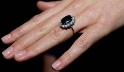 Kate Middleton, Princess Diana Sapphire Engagement Ring