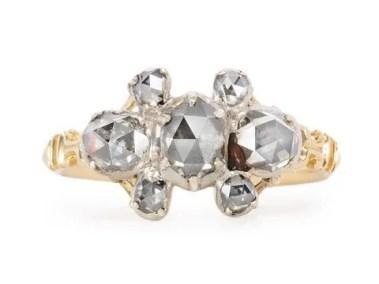 Antique Georgian Diamond Ring