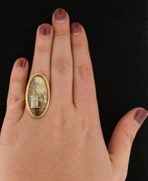 Antique Memorial Ring